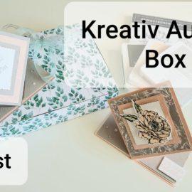 Kreativ-Auszeit Box – August 2020